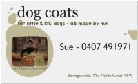dogcoats for little and BIG dogs
