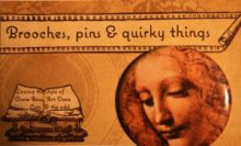 Brooches, pins & quirky things