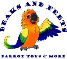 Beaks and Feets Parrot Toys