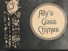 Ally's Glass Chimes